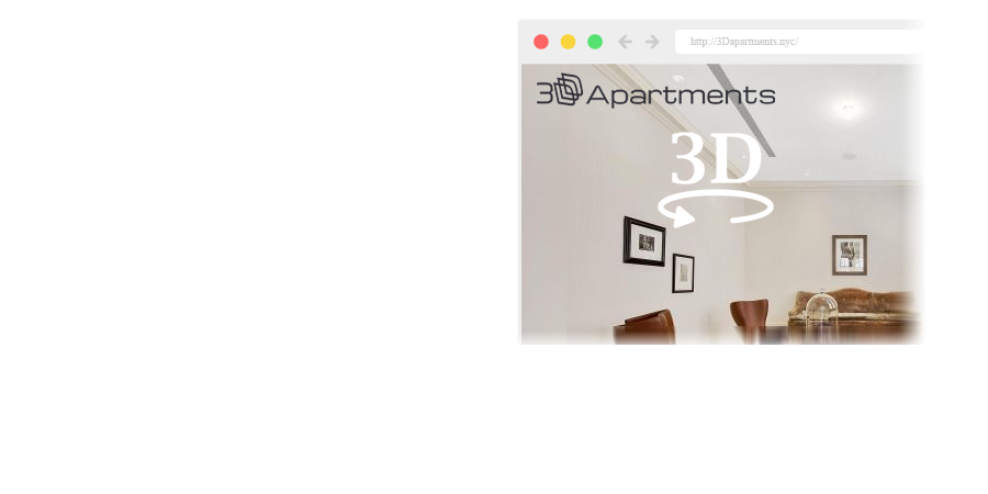 With 3Dapartments website you can view apartments in 3d and VR with any cardboard and smartphone
