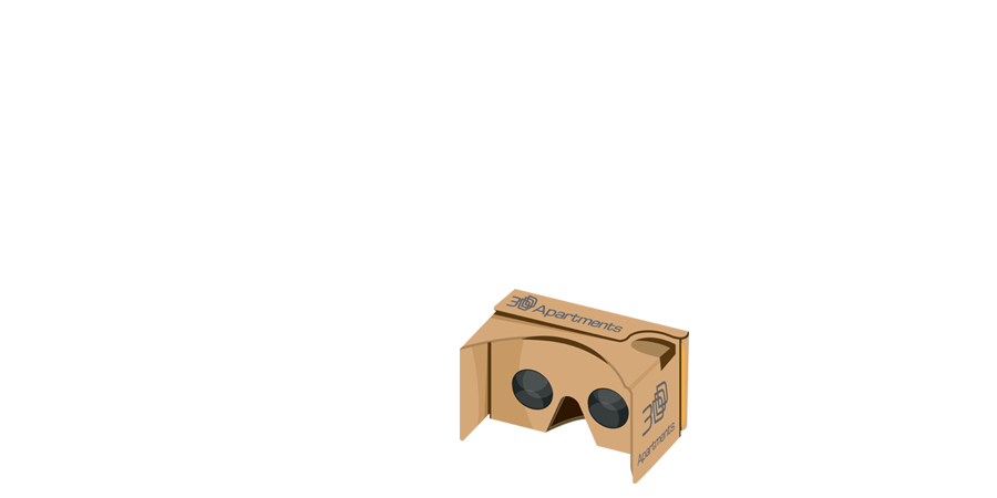 Our 3Dapartments viewer compatible with all kinds of VR headsets and VR Cardboards